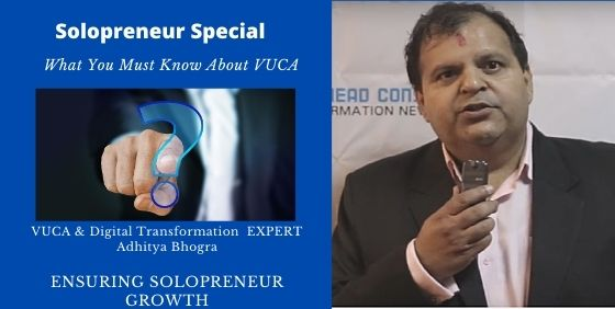 Must Know of  VUCA World for Solopreneur